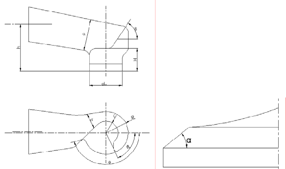 Port drawing psychological. The main structure parameters