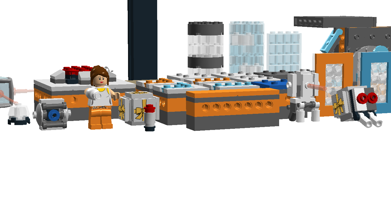 Portal 2 funnel png. Lego ideas product modular
