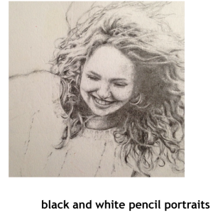 Portraits drawing. Gemma nolan art people