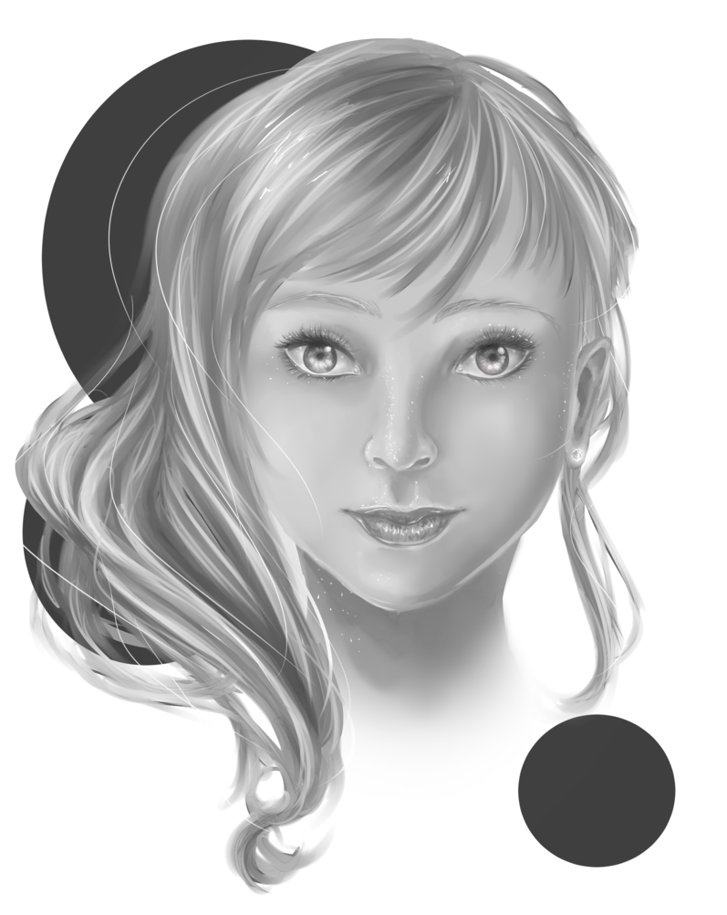Portraits drawing realism. Semi practice by fenhung