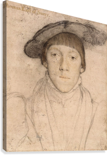 Portraits drawing renaissance. Portrait of thomas earl