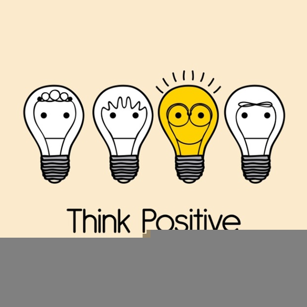 Positive clipart. Think free images at