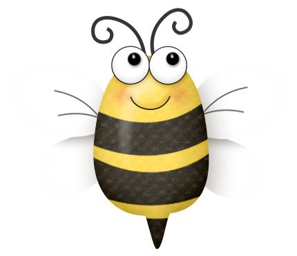 Bumblebee clipart abeja. Best bee abejas