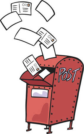 Post clipart. Mail