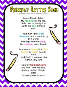 Post clipart friendly letter. Mentor text writing school