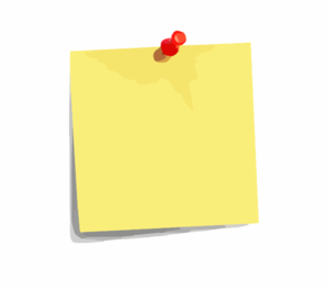 Post it clipart. Note clip art at