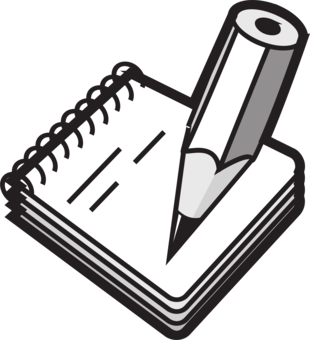 Post it clipart written note. Handwriting letter computer icons