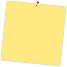 Notepad pin png. Sticky notes generator free