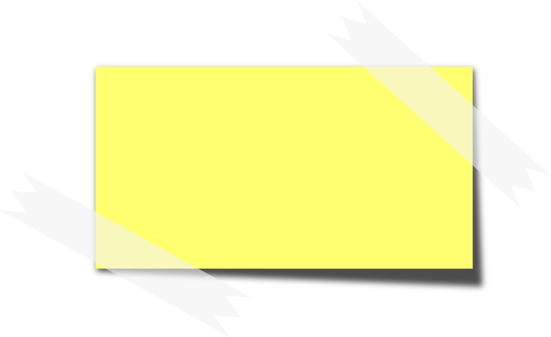 Post it note png. Clipart tape free on