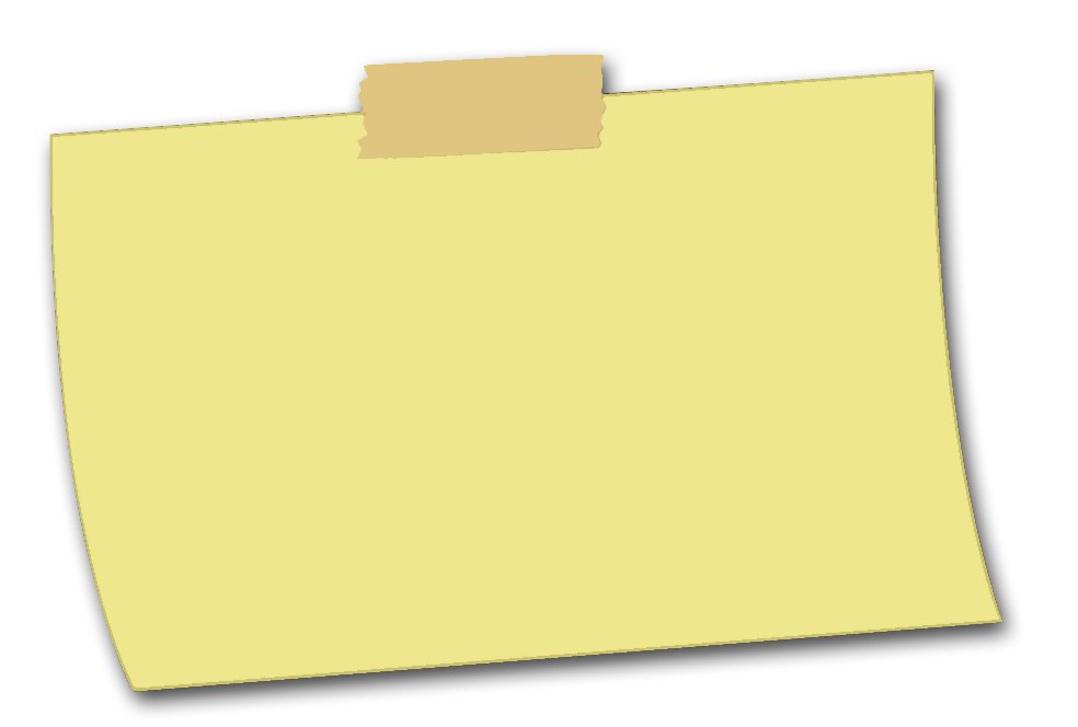 Post it note transparent png. Sticky notes picture web