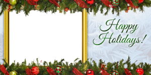 Holiday card png. Free cards templates clipart