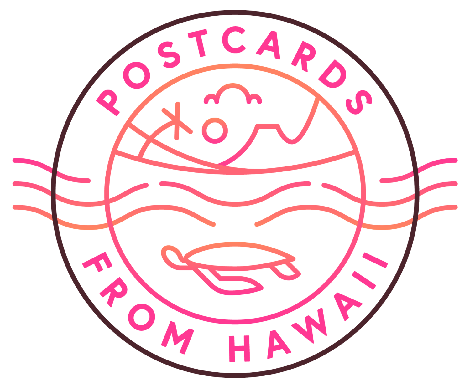 Postcard clipart postcard hawaii. Contact postcards from travel
