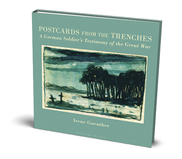 Trenches drawing ww1 battlefield. How postcards from wwi