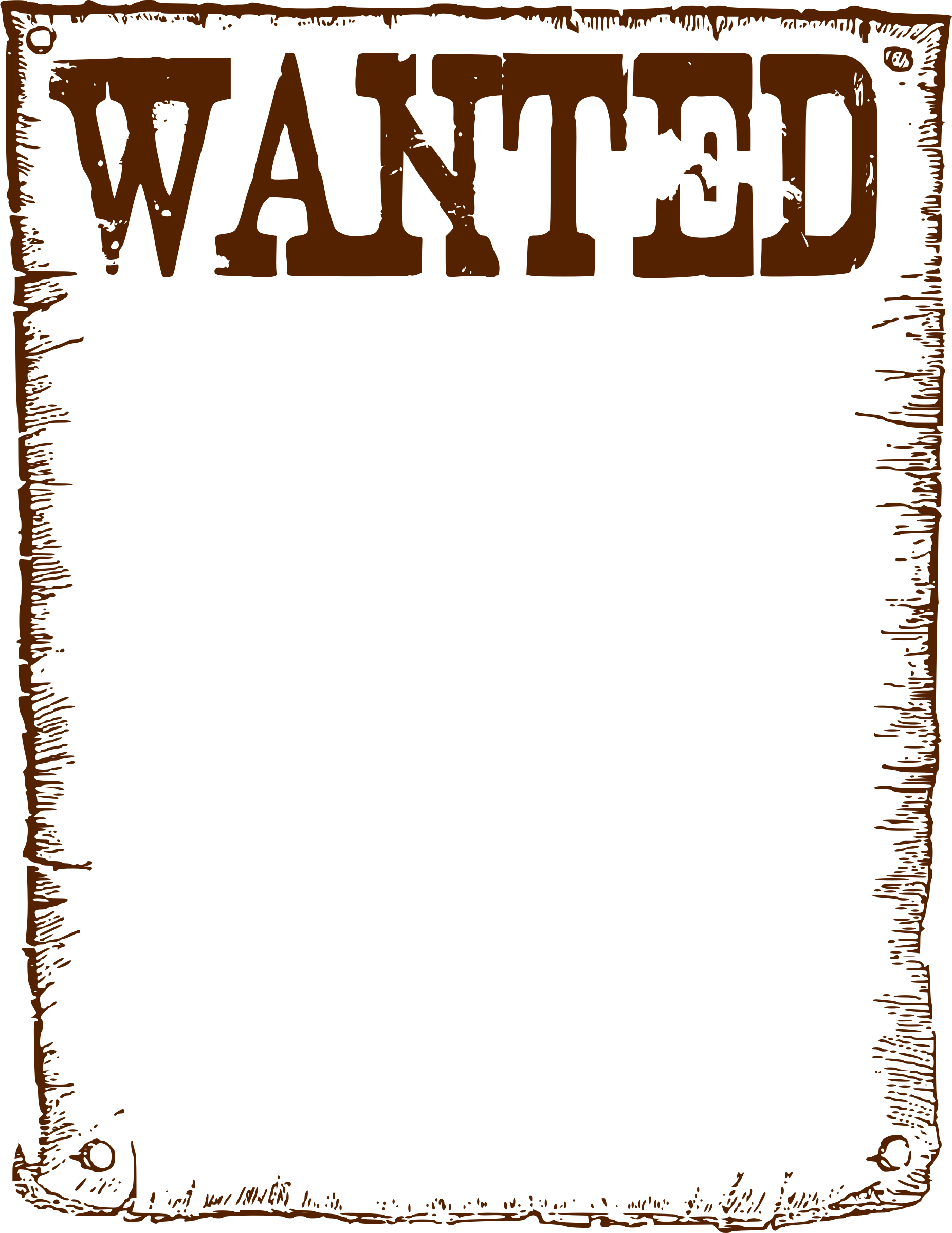 wanted transparent icon