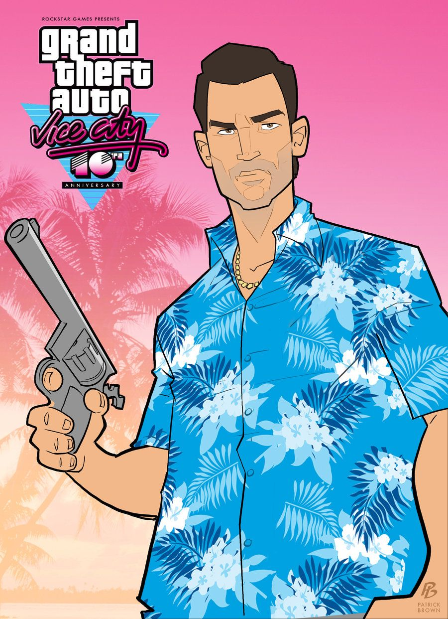 Poster clipart gta. Grand theft auto vice