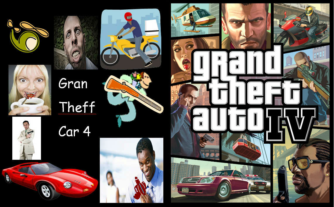 Poster clipart gta. Famous video game box