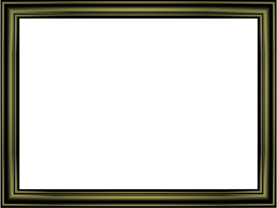 Poster frame png. Transparent frames and borders