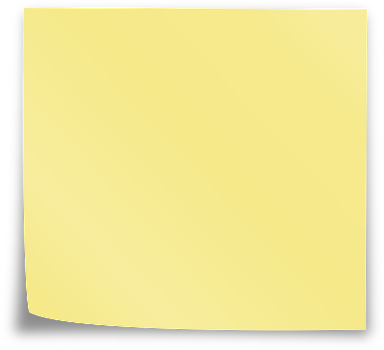 Postit note png. Sticky notes images free