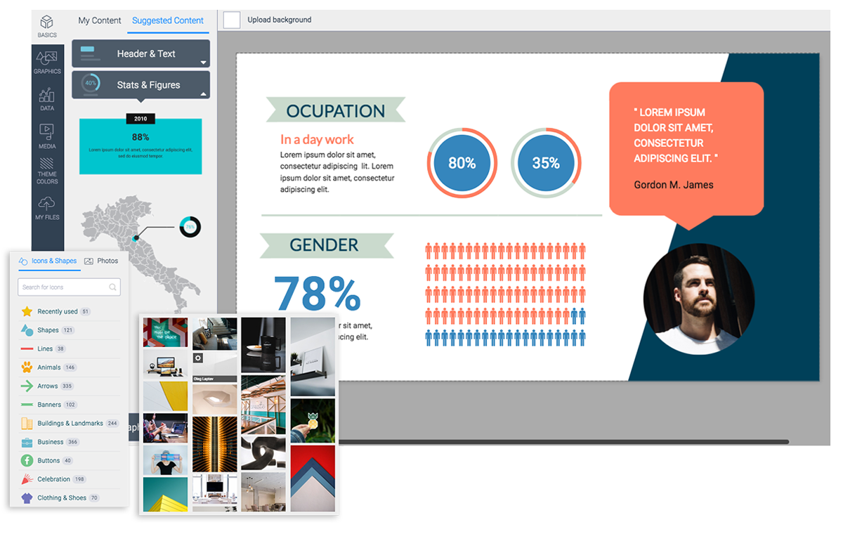 Powerpoint vector modern business. Top alternatives compared visual