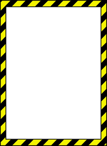 Postit vector tape. Caution clip art image