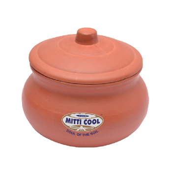 Pottery clipart clay bowl. Earthen curd pot with