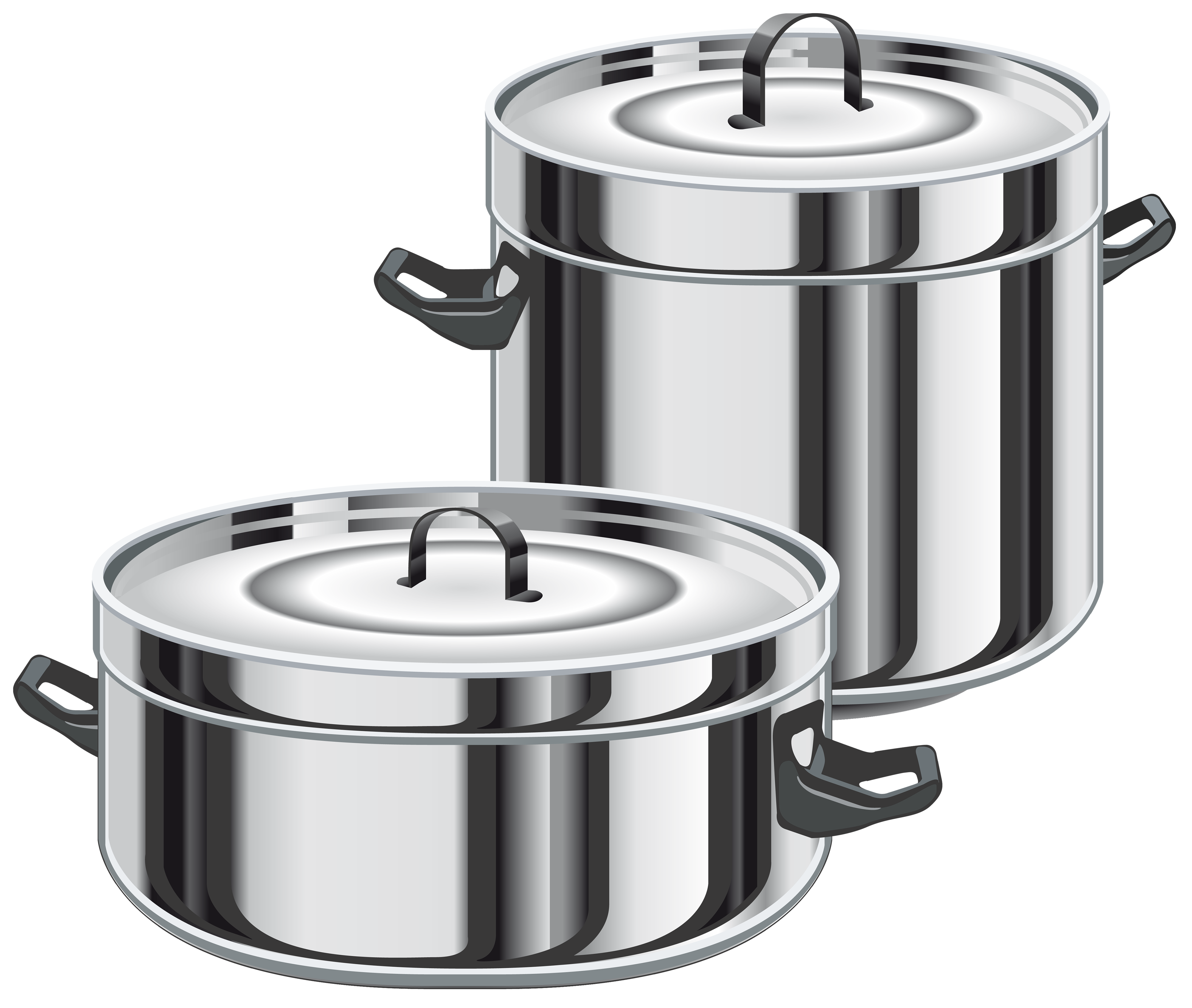Pot clipart cookin. Cooking pots png best