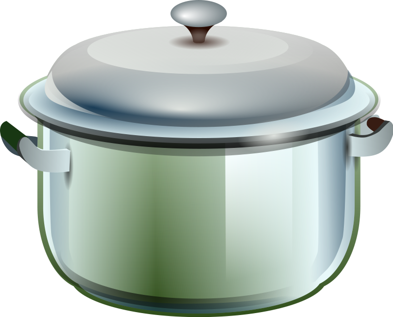 For a cooking pot. Kitchen clip graphic royalty free stock