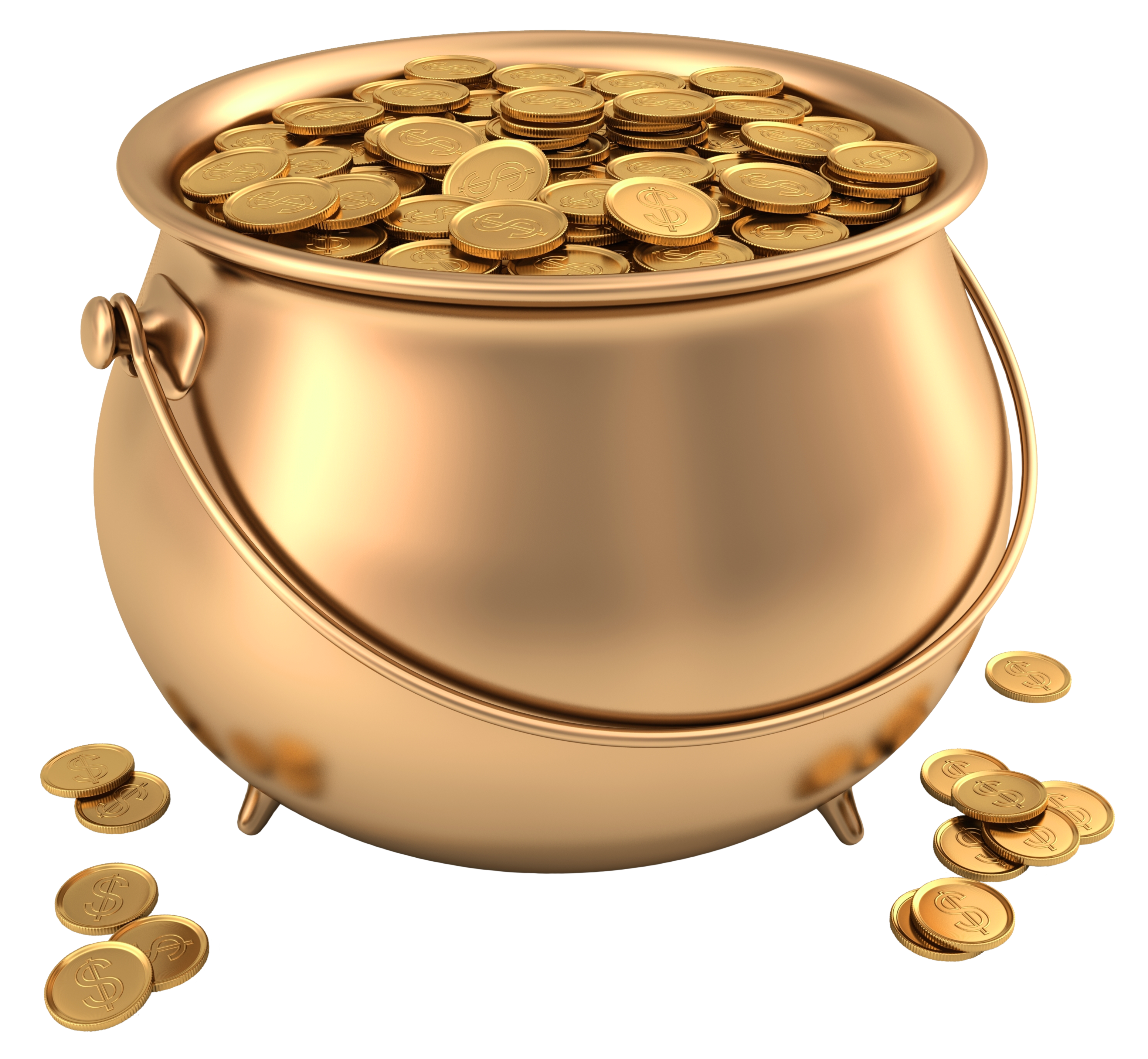 Pot of gold png. Picture clipart gallery yopriceville