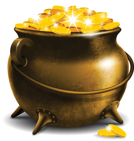 Pot of gold png. Image google search