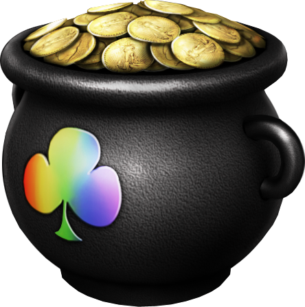 Pot of gold png. Image hisec case high