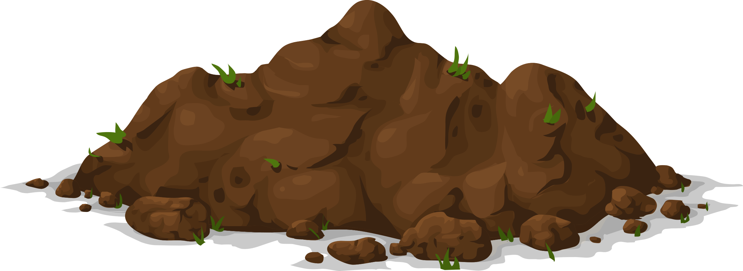 Pot with soil transparent background png. Collection of mud