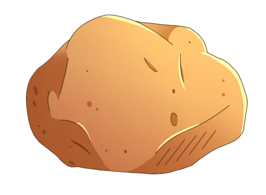 Potatoes drawing. This potato can draw