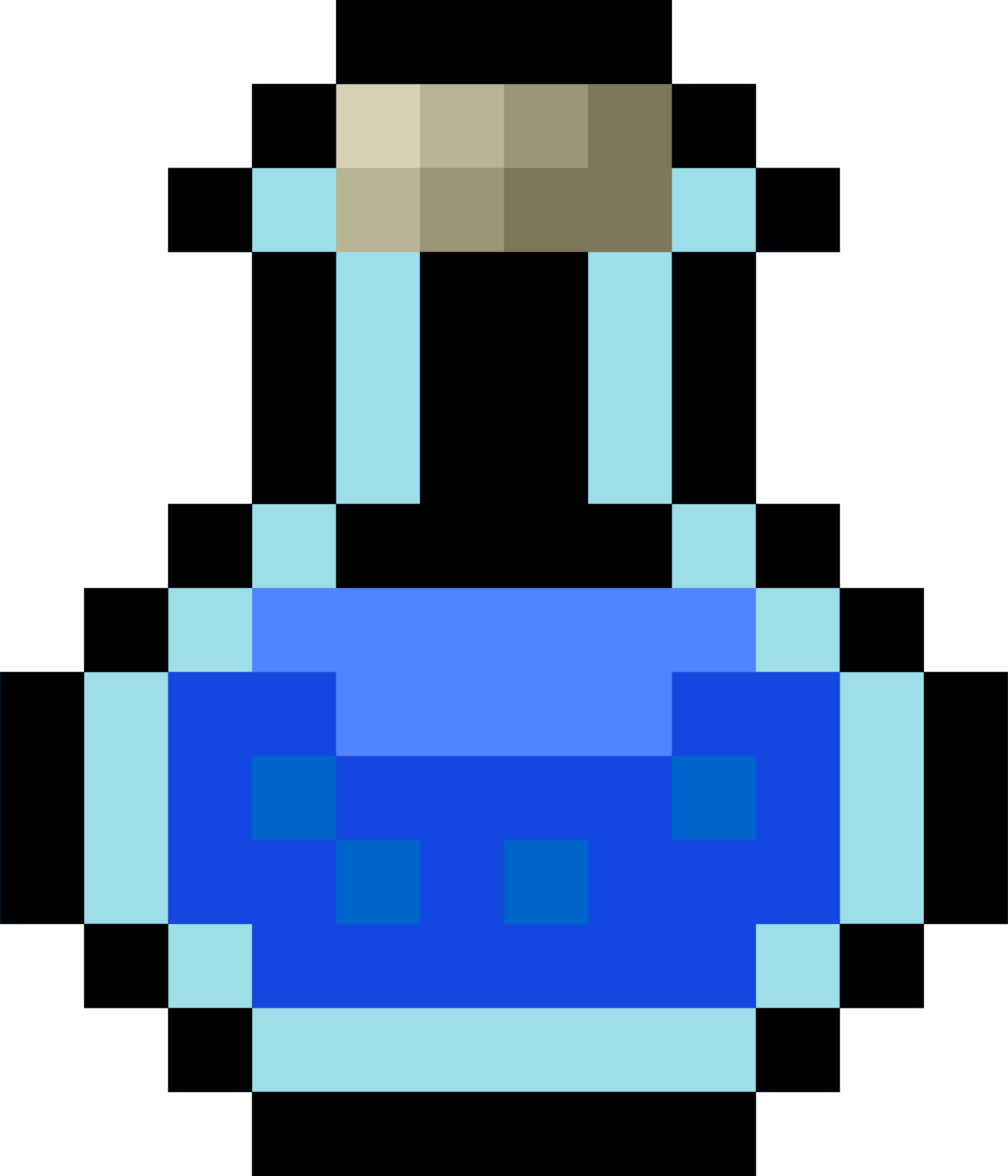 Potion bottle icon png. Pixel blue icons free