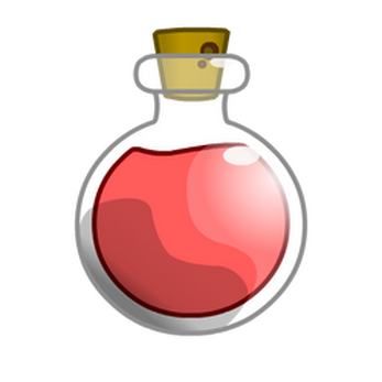 Potion bottle png. Colorful bottles by shiro