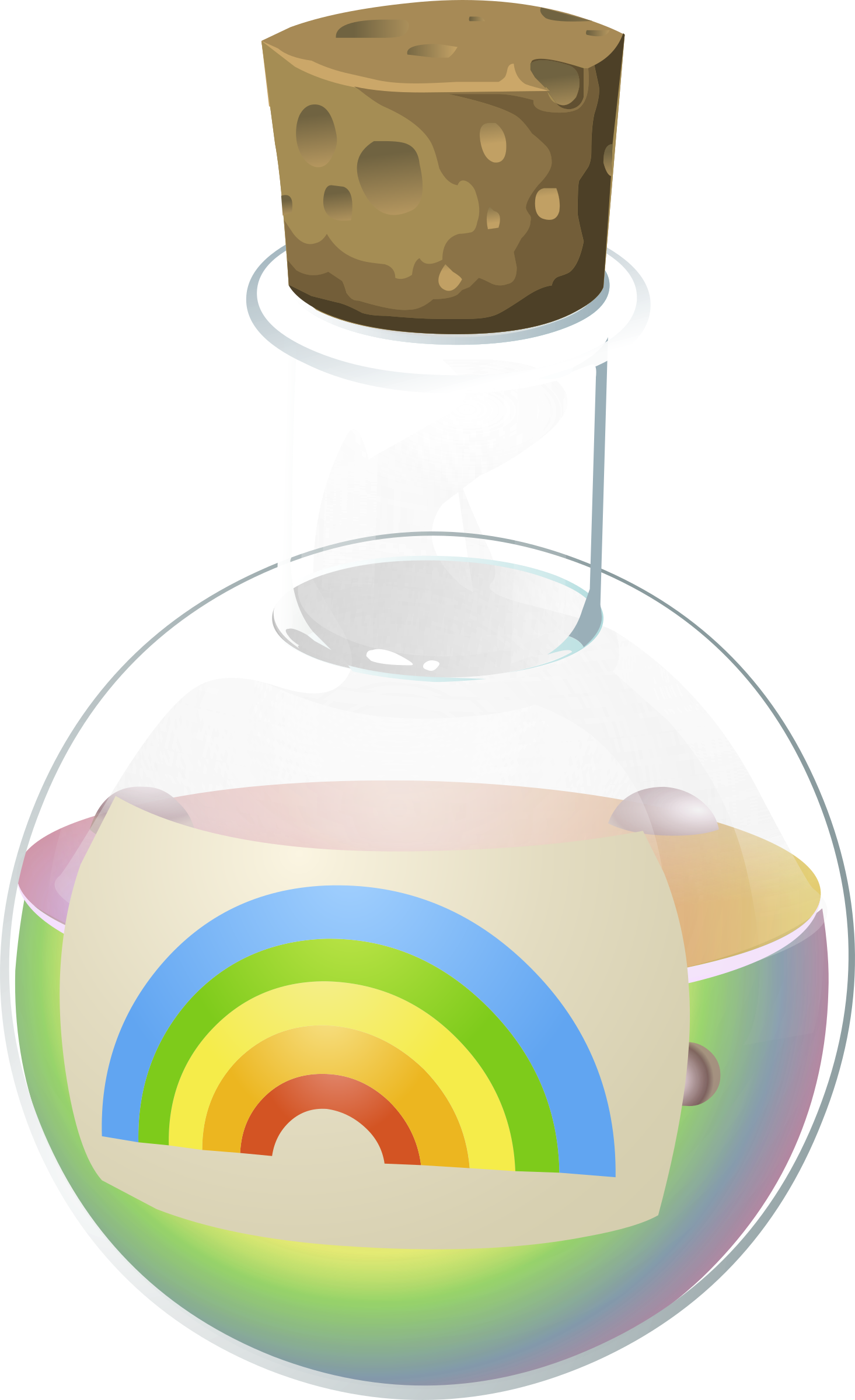 Potion clipart png. Alchemy rainbow juice icons