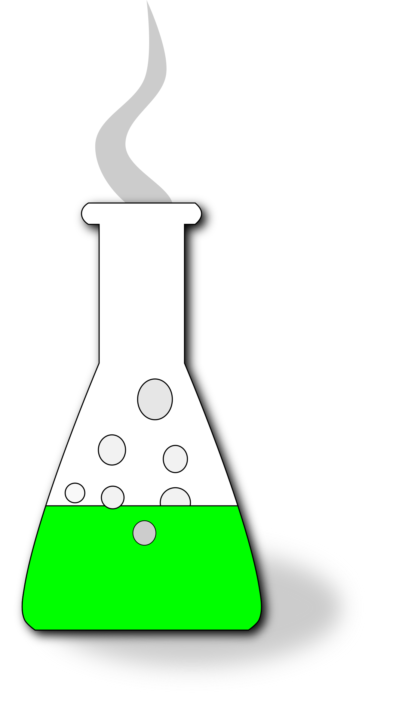 Chemistry clip green potion. Clipart big image png