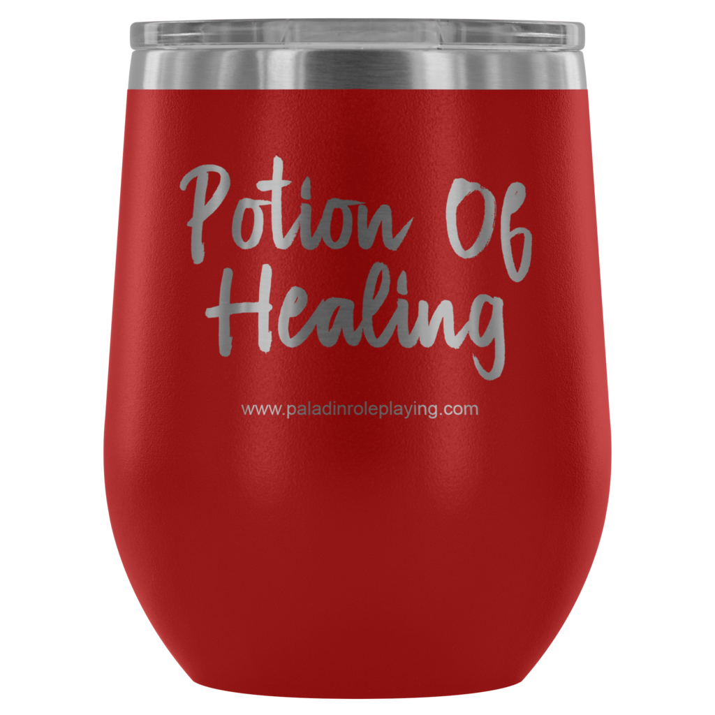 Potion of healing png. Insulated tumbler paladin roleplaying