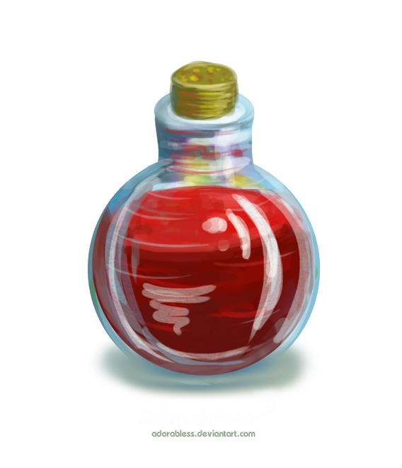 Potion png red. Life level point open