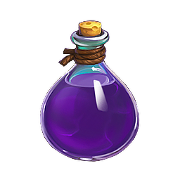 Potion transparent purple. Playkot support experience potions