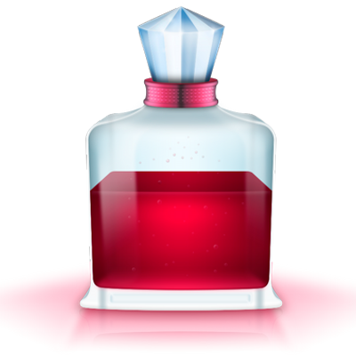 Potion transparent red. Love getlovepotion twitter
