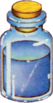 Potion transparent zelda. Image blue a link