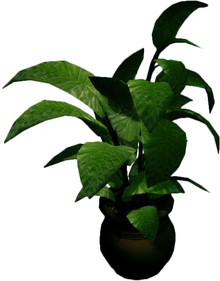 Potted plants png. Image dead rising large