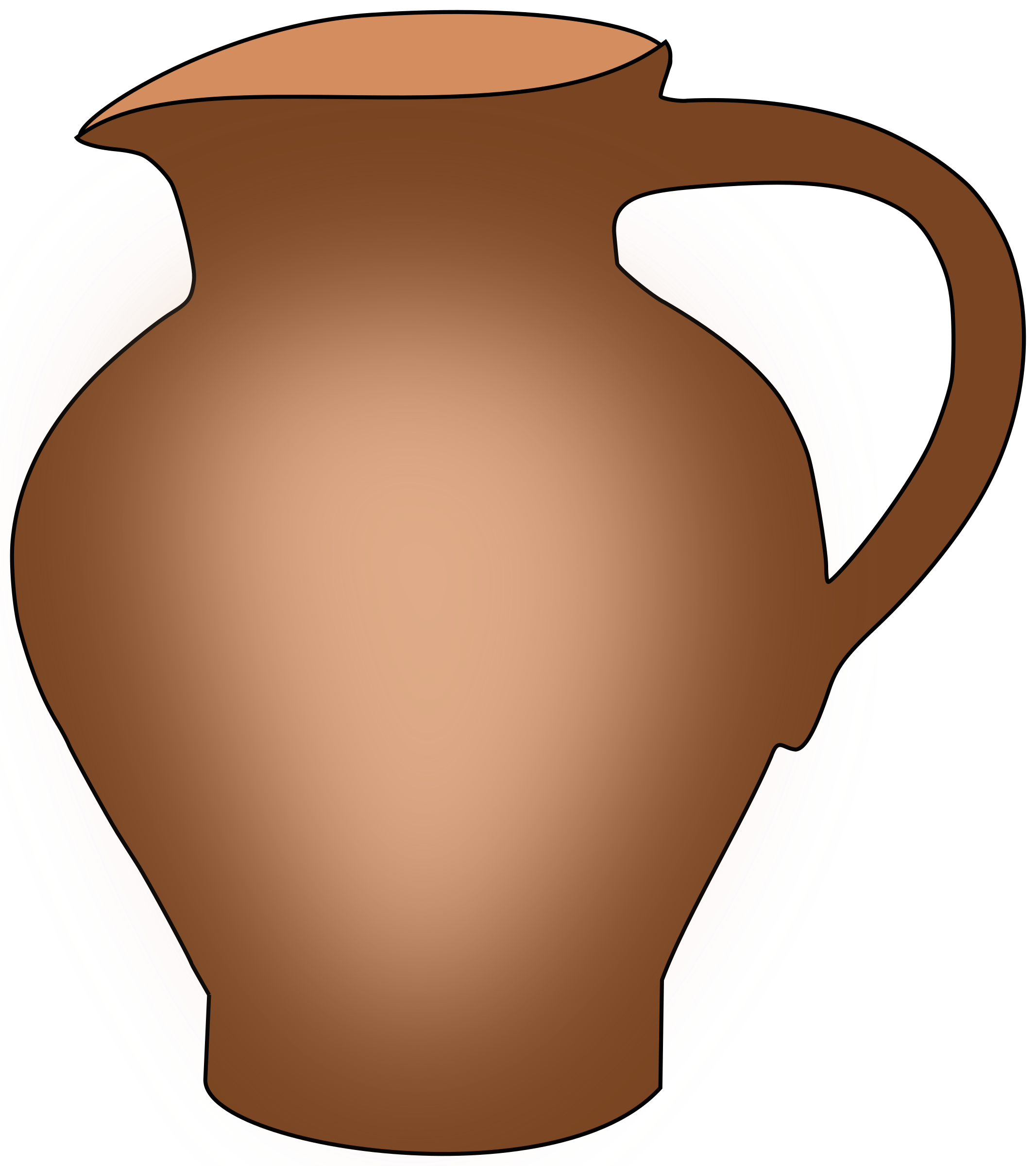 Wine clipart wine jug. Pottery at getdrawings com