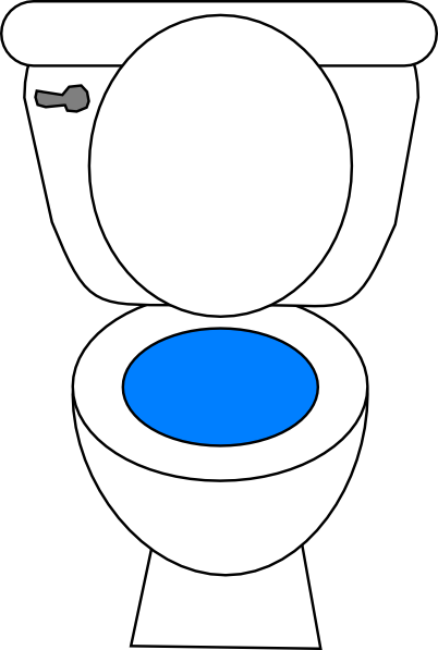 Potty clipart bathrom. Bathroom images free download