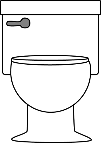 Restroom Black And White Transparent Png Clipart Free Download