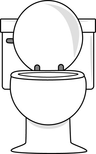 Potty clipart preschool. White toilet with lid