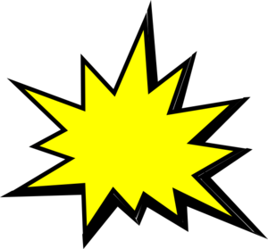 Group with items yellow. Cartoon pow png png freeuse library