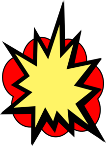 pow! png yellow