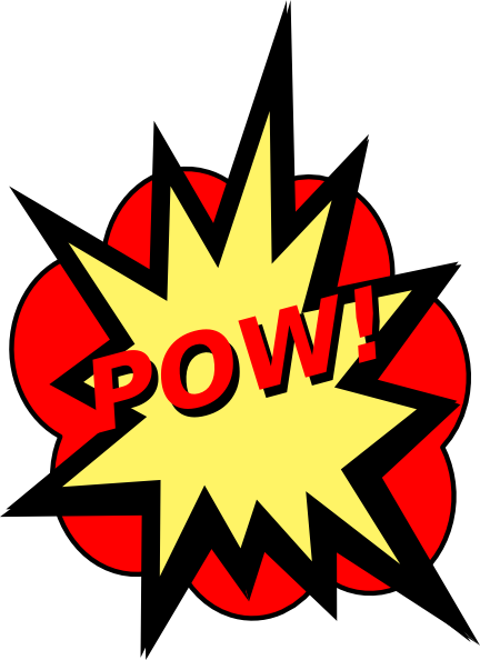 comic book pow png
