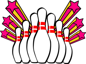 Pow clipart grand slam. Free sports bowling clip
